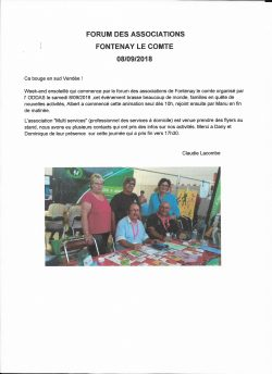 forum associations fontenay