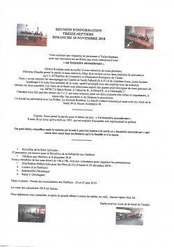 reunion treize septiers 18.11.18