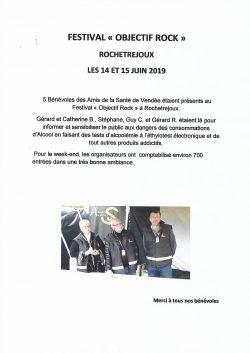 Festival Objectif Rock Rochetrejoux 15.06.2019