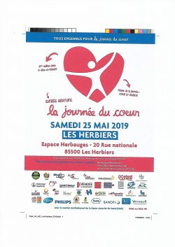 Journée du coeur flyer 25.05.2019