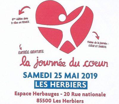 La Journée du Coeur aux Herbiers 25.05.2019