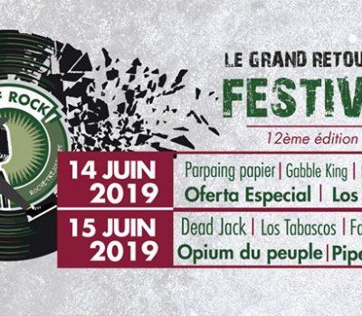 Festival OBJECTIF ROCK – Rochetrejoux les 14 et 15.06.2019