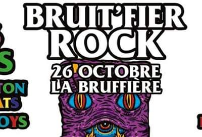FESTIVAL BRUIT'FIER ROCK 26.10.2019