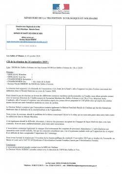 Rencontre Mme Hébert 24.09.2019