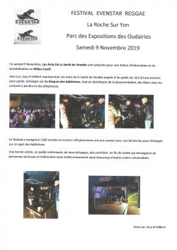festival evenstar reggae 9.11.2019