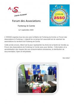 image cpte rendu Forum des Assos Fontenay