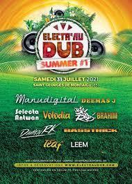 Festival ELECTR'AU DUB St Georges de Montaigu 31.07.2021