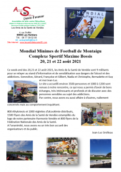 Image CR Mondial Minimes Montaigu 20 21 22 aout 2021